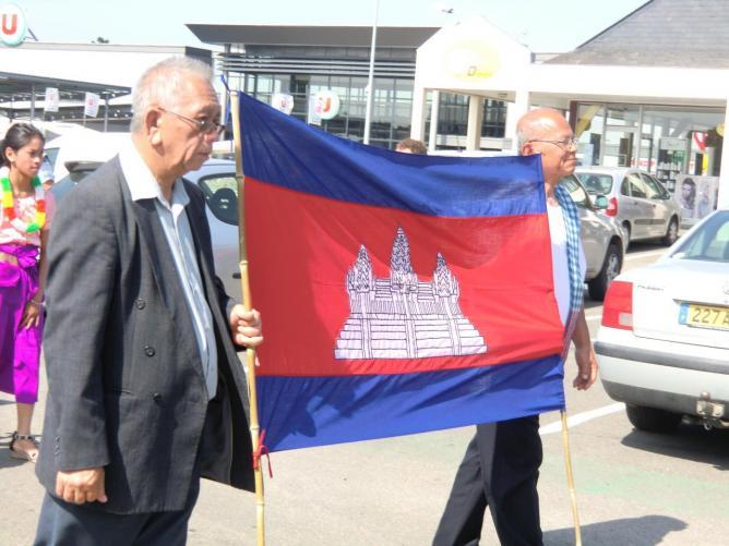 drapeau khmer
