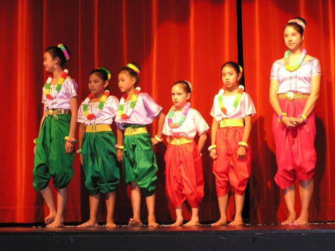 Danses traditionnelles khmères