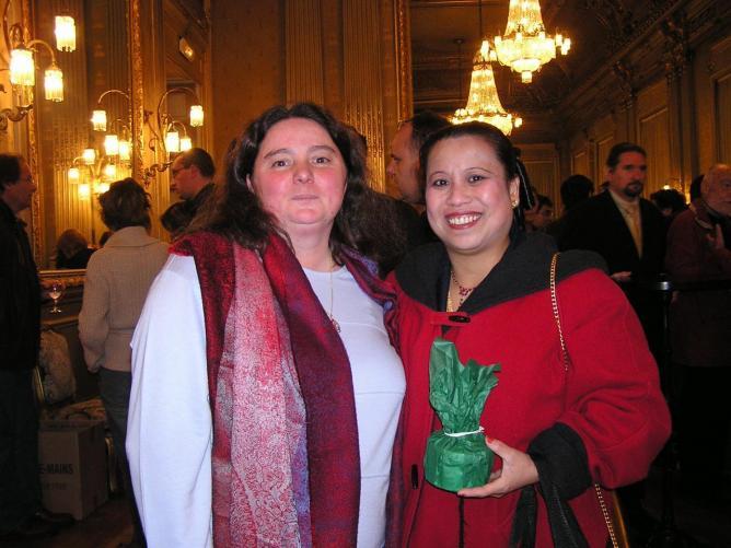 Marie Anne Chapdelaine Adj au Maire et Pay Van, Vice Présidente AKIV