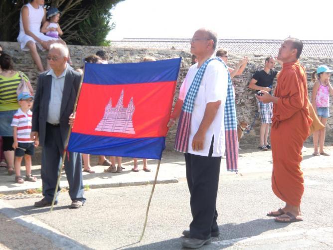 porteurs drapeau