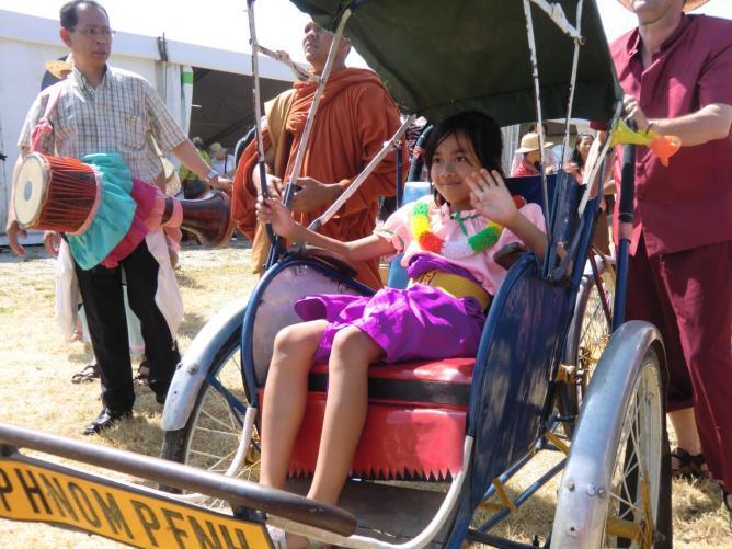 reine du cambodge